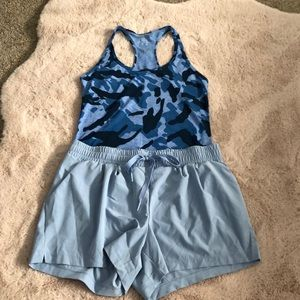 2-piece! GAP tank + shorts